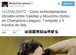Enlace a Casillas le tiene tomada la medida a Mourinho