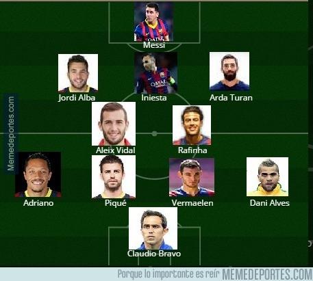 700332 - El Barça podría hacer un XI solo de sancionados y lesionados esta temporada