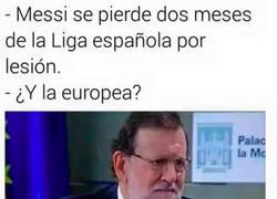 Enlace a Messi se pierde dos meses de la liga española