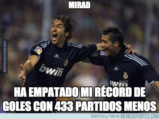 701087 - Cristiano ha fulminado el récord de Raúl en tiempo récord