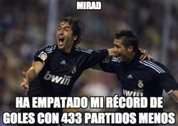Enlace a Cristiano ha fulminado el récord de Raúl en tiempo récord