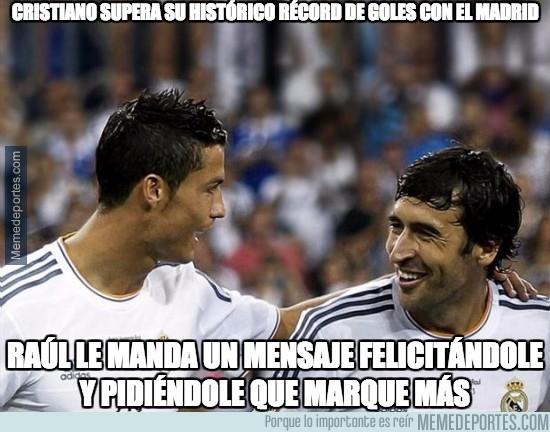 701196 - Cristiano supera su histórico récord de goles con el Madrid