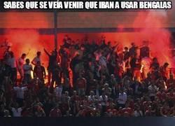 Enlace a Ya tenían antecedentes los del Benfica
