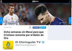 Enlace a ¿De verdad alguien cree que el balón de oro no se lo llevará Messi?