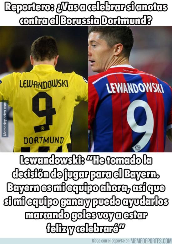 703343 - ¿Qué opinas de lo que dice Lewandowski?