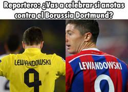 Enlace a ¿Qué opinas de lo que dice Lewandowski?