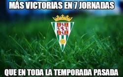 Enlace a Al Córdoba se le da bien la Liga Adelante