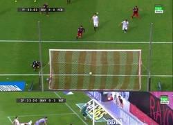 Enlace a Rubén Castro ha reeditado la jugada de ayer en el Sevilla-Barça
