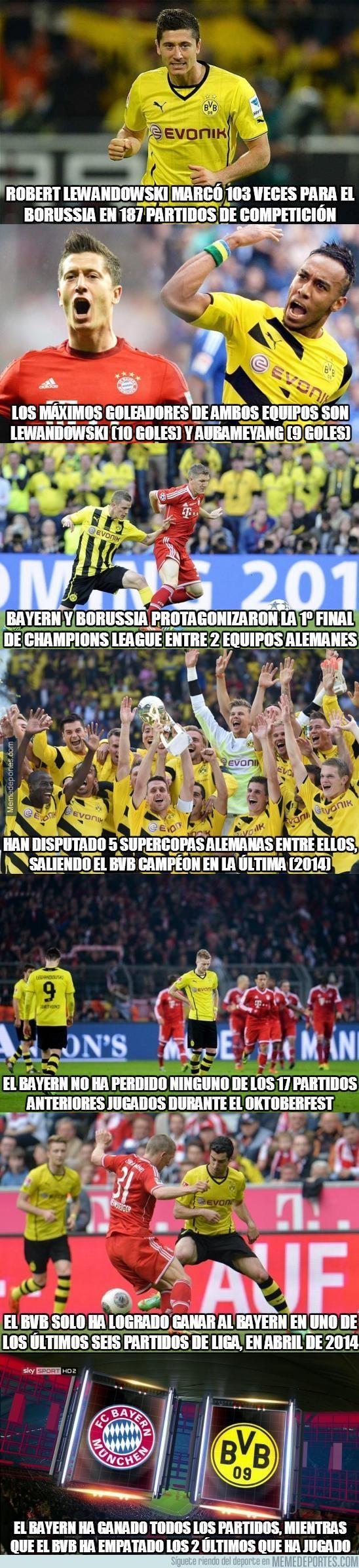 703671 - Datos del Bayern - Borussia. ¿Por quién apuestas?