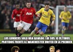Enlace a Datos del Arsenal - Manchester United. ¡Vaya partidazo se nos viene encima!