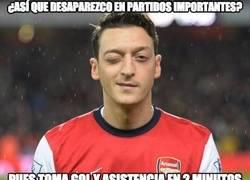 Enlace a Brutal inicio del Arsenal y Özil