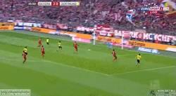 Enlace a GIF: Gol de Aubemayang que pone el 2-1
