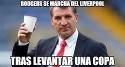 Enlace a Inolvidable el paso de Rodgers por el Liverpool