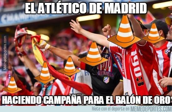 704729 - El próximo partido en el Calderón todos con caretas de cono para homenajearle