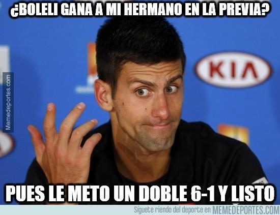 705567 - La venganza de Djokovic a su hermano