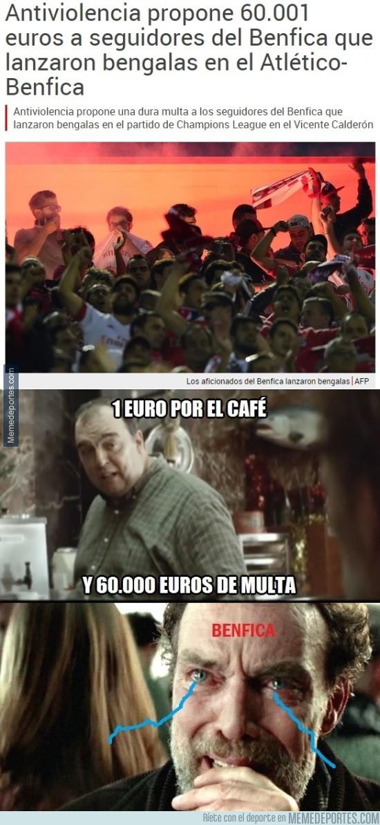 705866 - La multa al Benfica y un café