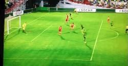 Enlace a GIF: El gol de Munir con asistencia de Deulofeu vs Georgia