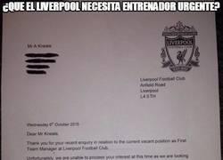 Enlace a La curiosa carta que le ha llegado al Liverpool