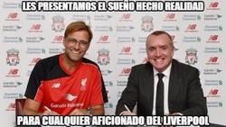 Enlace a Vaya pedazo de entrenador ficha el Liverpool