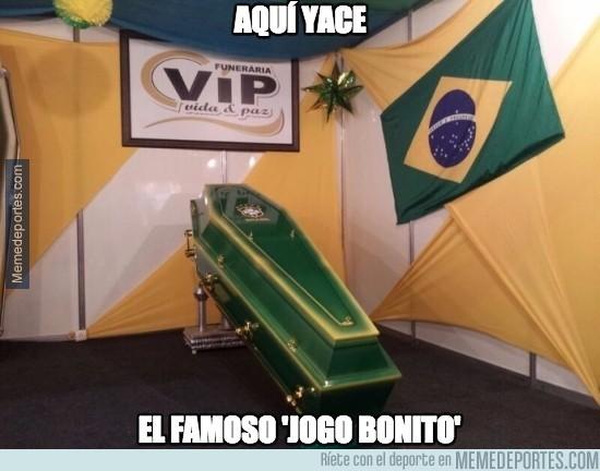 706716 - Aquí yace el famoso Jogo Bonito de Brasil