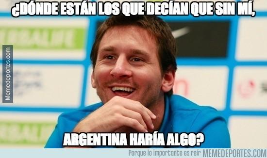 706922 - ¿Qué dirán ahora los argentinos?