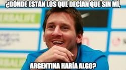 Enlace a ¿Qué dirán ahora los argentinos?
