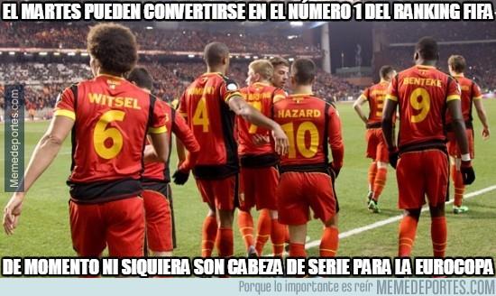 706950 - ¿Bélgica primeros del ranking FIFA?