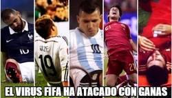 Enlace a El virus FIFA on fire