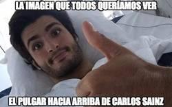 Enlace a La imagen de Carlos Sainz Jr que todos queríamos ver
