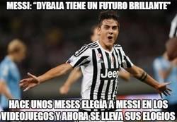 Enlace a Dybala debe estar más que feliz con las palabras de Messi