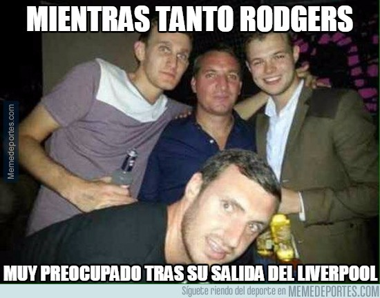 707864 - Rodgers intentando olvidar al Liverpool
