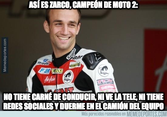 707960 - Así es Zarco, campeón de Moto2