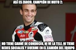 Enlace a Así es Zarco, campeón de Moto2