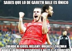 Enlace a Sabes que lo de Gareth Bale es único cuando...