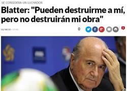 Enlace a Blatter el Supervillano