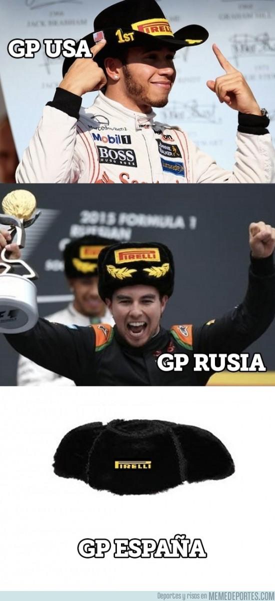 708357 - Al final cada país pone su sombrero típico