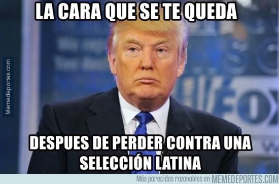 708476 - Donald Trump viendo a su selección