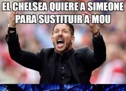 Enlace a El Chelsea quiere a Simeone para sustituir a Mou