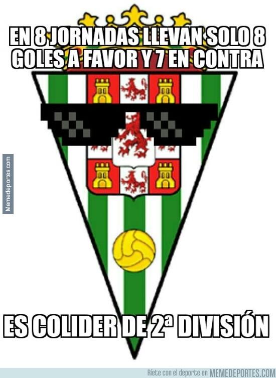 708573 - Curioso dato el del Córdoba
