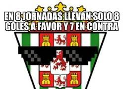 Enlace a Curioso dato el del Córdoba