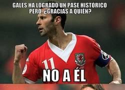Enlace a Bale no juega solo en Gales