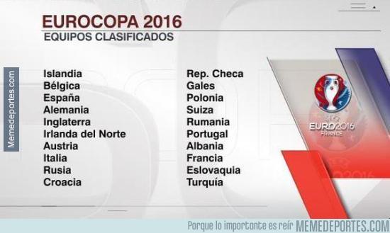 709581 - Los equipos que ya están clasificados para la Euro 2016