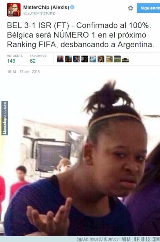 709590 - Hay cosas inexplicables y luego está el ranking FIFA