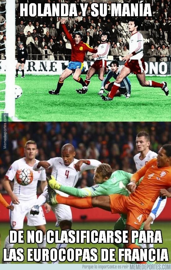 709781 - Holanda y su manía de no clasificarse para las eurocopas de francia