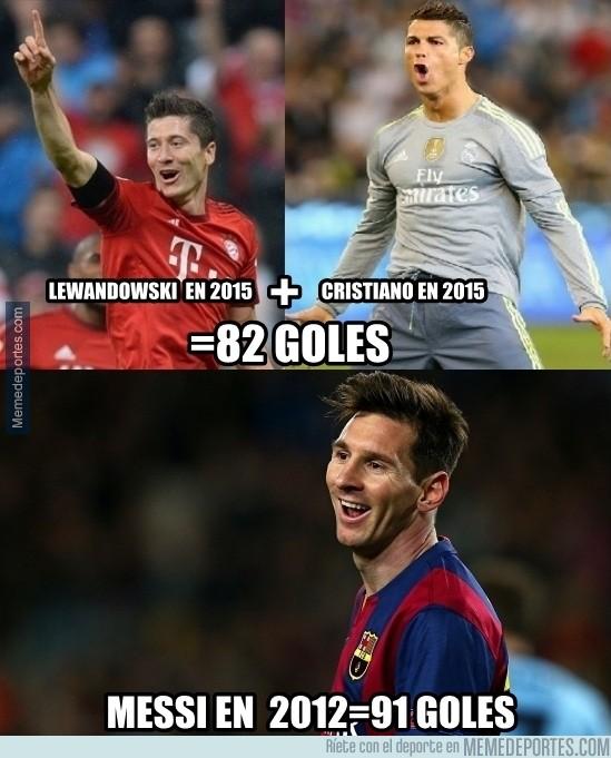 710173 - Ni Lewandowski y Cristiano juntos pueden contra Messi
