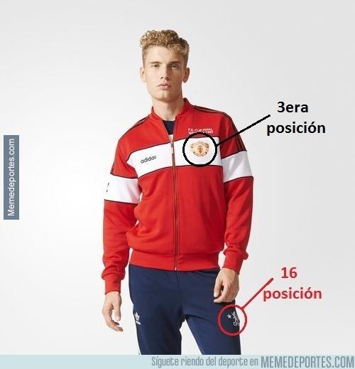 710202 - Adidas sólo quiso reflejar la tabla de posiciones en su publicidad