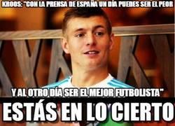 Enlace a Toni Kroos conoce bien España