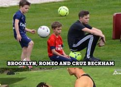 Enlace a 9 Hijos de futbolistas famosos que tendrán que forjar su propia identidad