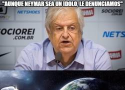Enlace a El presidente del Santos a por Neymar