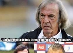 Enlace a Menotti carga contra Luis Enrique y su Messidependencia